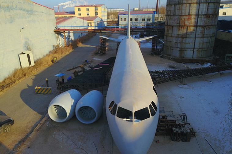 mô hình máy bay a320 đẹp nhất trung quốc với tỷ lệ 1/1